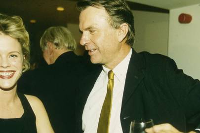 Biddy Hodson and Sam Neill