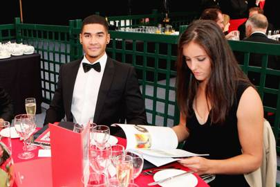 Louis Smith and Laura Robson