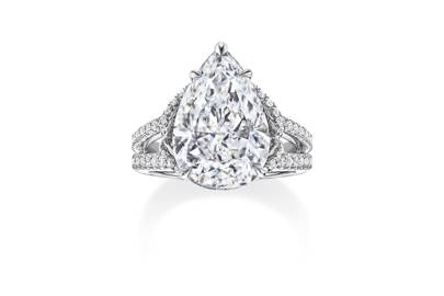 The newest engagement rings from Harry Winston