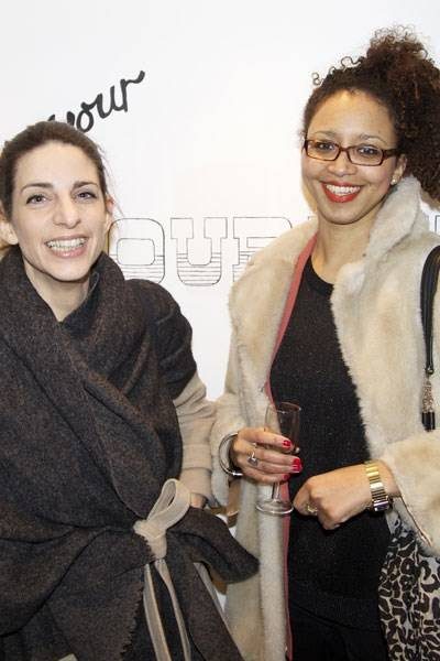 Carla Borel and Yinka Akindele