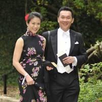 Ann Lim and Professor Ivor Lim