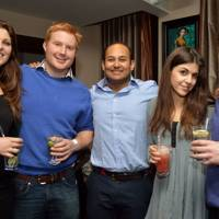 Camilla Harden, Will Orpwood, Hamza Huda, Eve Jones and Charles Orpwood