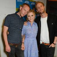 Laurence Fox, Emilia Fox and Jack Fox