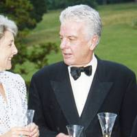 Viscountess Hereford and Nicholas Hallam