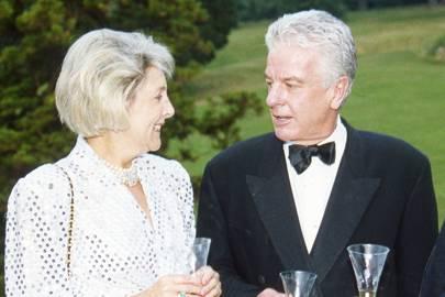 Viscountess Hereford and Nicholas Hallam