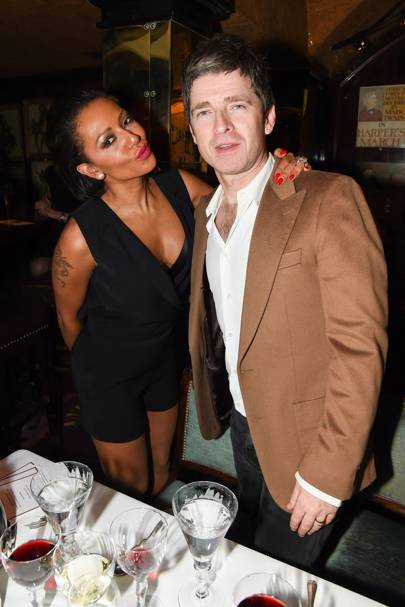 Melanie Brown and Noel Gallagher