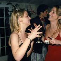 Anastasia Griffith and Katy Horridge