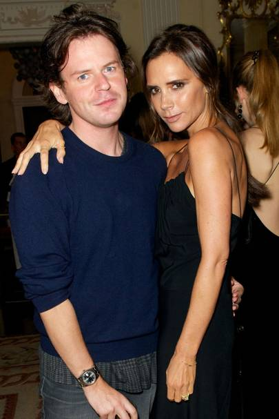 Christopher Kane and Victoria Beckham