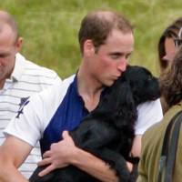 The Duke of Cambridge and Lupo