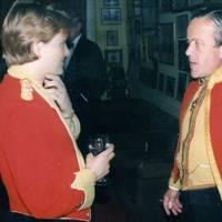 Amanda Boyd and Brigadier Mel Jamieson