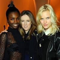Leomie Anderson, Clare Waight Keller and Hannah Holman