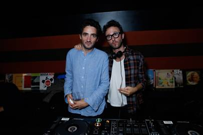 DJ Agoria and Benjamin Eymere