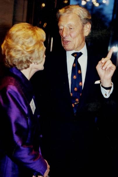 Lady Caroline Borg and Sir Angus Ogilvy