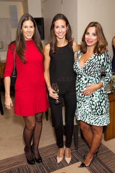 Eleanora Soldo, Nadia Elhosh and Natasha Shafi