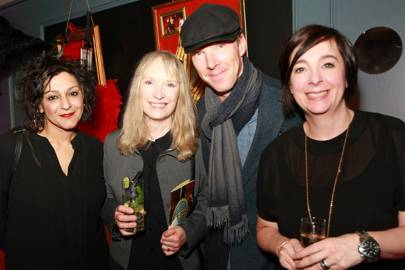 Meera Syal, Lindsay Duncan, Benedict Cumberbatch and Vicky Featherstone