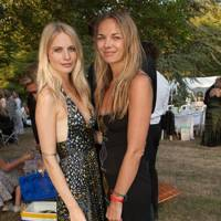 Poppy Delevingne and Victoria Cook