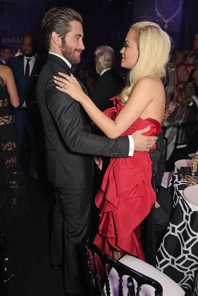 Jake Gyllenhaal and Rita Ora