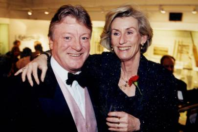 Nicholas Bonham and Denise Gabriel
