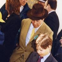 Lord Daresbury and the Hon Toby Greenall