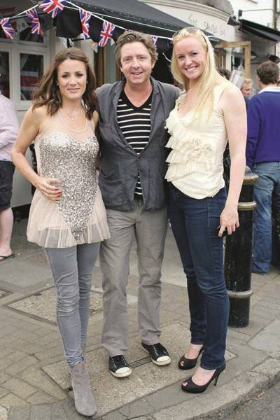 Natalie Pinkham, Eamonn Manson and Catherine Collins