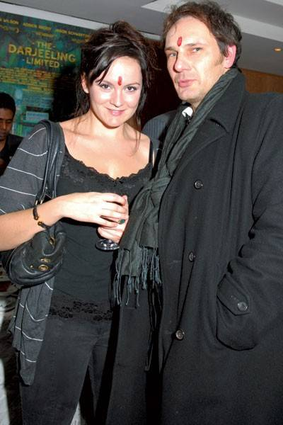 Rachael Stirling and Steven Cornell