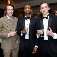 Bertie Dashwood, Fusi Awosika and Piers Webb
