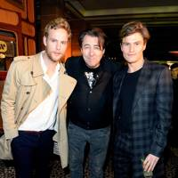Jack Fox, Jonathan Ross and Oliver Cheshire