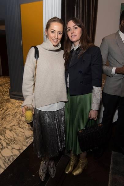 Fanny Moizant and Tania Fares