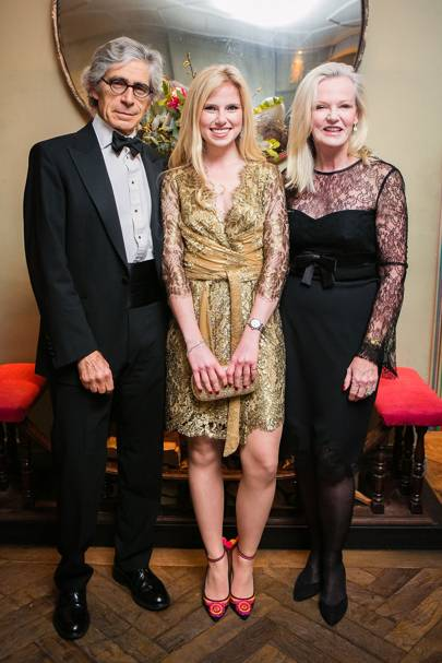 Richard Phillips, Ella Phillips and Alison Phillips