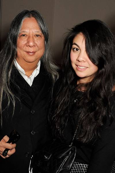 John Rocha and Simone Rocha