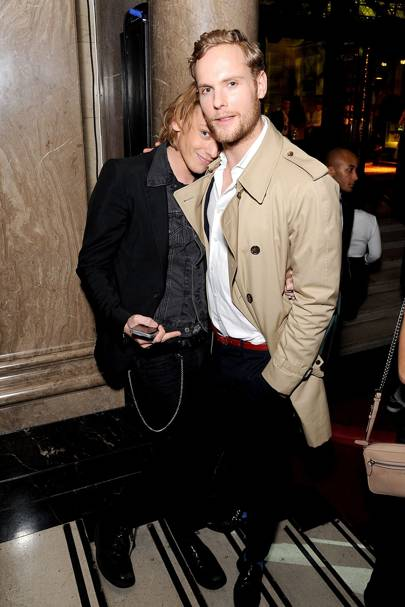 Jamie Campbell Bower and Jack Fox