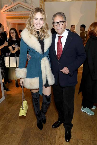 Suki Waterhouse and Stuart Weitzman