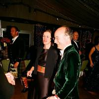 The Countess of Kinnoull and Adam Bruce