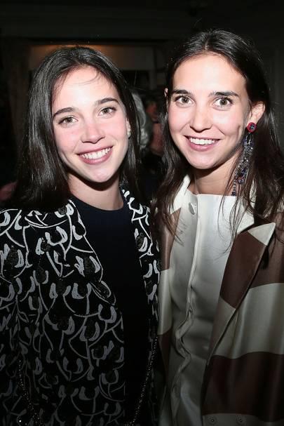 Viola Arrivabene and Vera Arrivabene