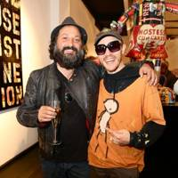 Mr. Brainwash and Stik