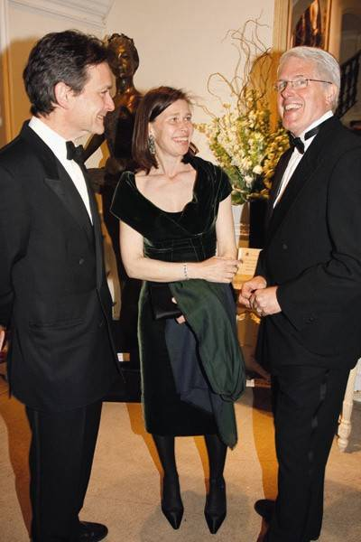 Daniel Chatto, Lady Sarah Chatto and Jay Jolley