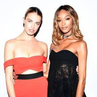Hailey Clauson and Jourdan Dunn