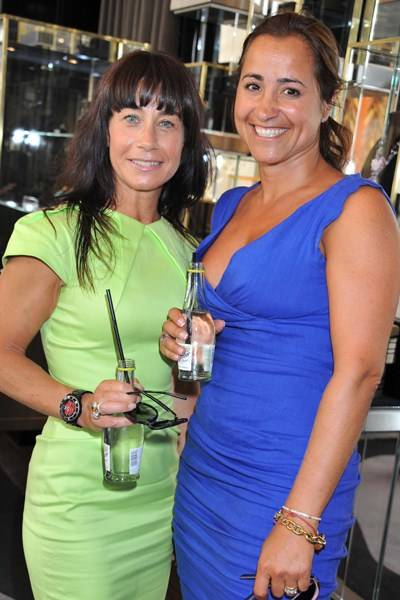 Leanne Pritchard and Kiana Sigaroudinia