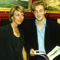 The Earl of Burlington and Mrs Jake Morley