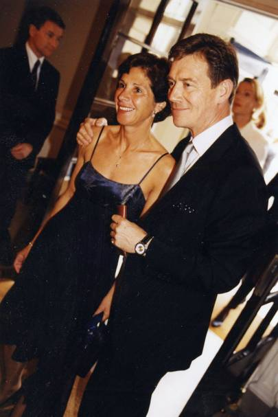 Mrs Anthony Andrews and Anthony Andrews