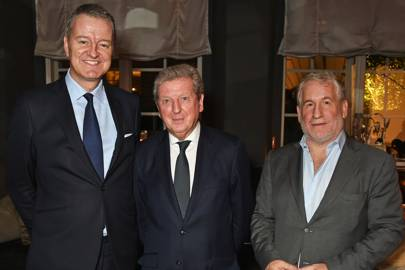 Richard Thompson, Roy Hodgson and Simon Kelner