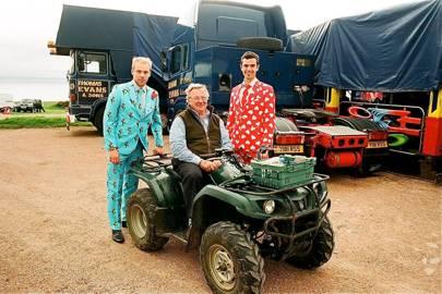 Kieran Simpson, Sandy Fyfe and Edward Coombe
