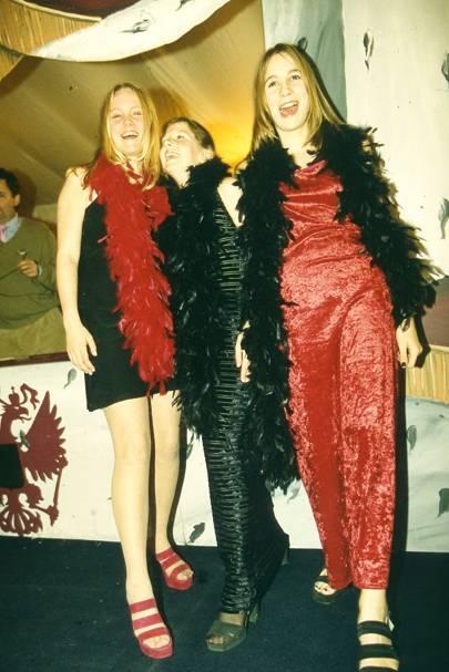Lara Cruickshank, Daisy Dimpfll and Ellen Lascelles