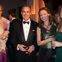 Diana Carney, Mark Carney, Allie Esiri and Melanie Sherwood