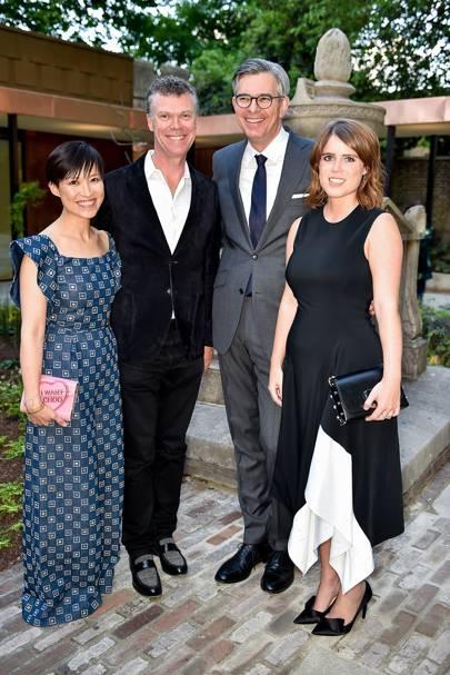 Sandra Choi, Pierre Denis, Michael Kliger and Princess Eugenie
