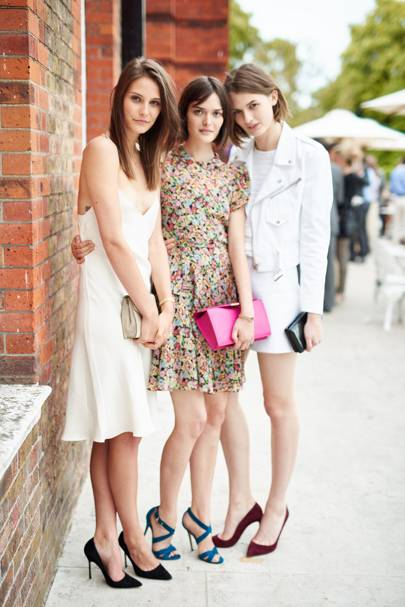 Lara Mullen, Charlotte Wiggins and Sam Rollinson