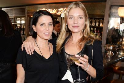 Sadie Frost and Kate Moss