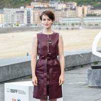 Wearing Rosetta Getty at the San Sebastian Film Festival, 2018