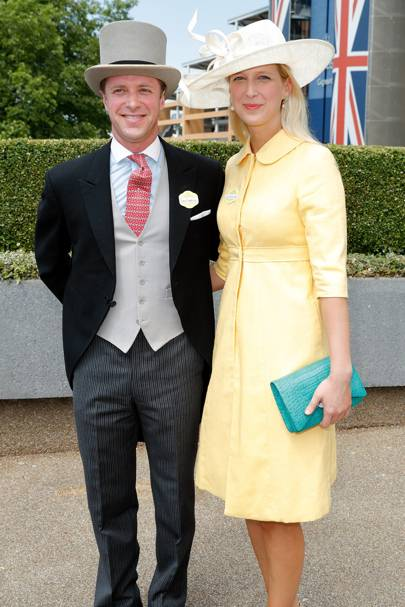 Tom Kingston and Lady Gabriella Windsor