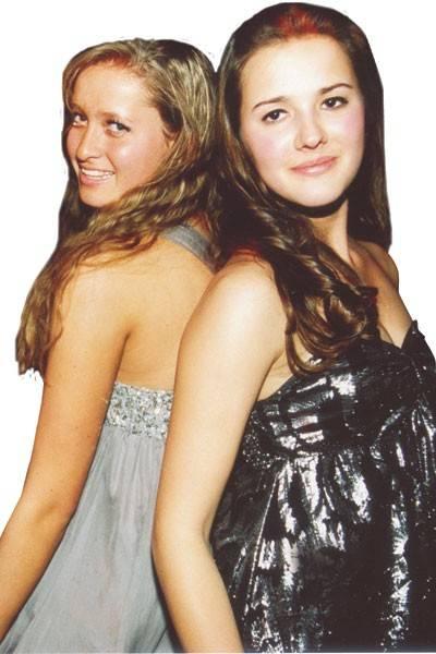 Isabella Hislop and Alexa Vittoria